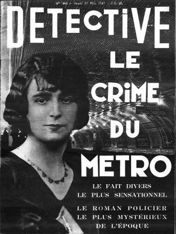1937 – Laetitia Toureaux, le mystère du crime du métro