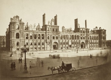 1871 – L'incendie de l'Hôtel de Ville