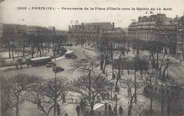 1860 – De la porte à la place d'Italie
