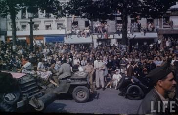 1944 – Paris / Le Mans – La Libération en couleur