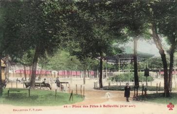 1836 – Place des Fêtes