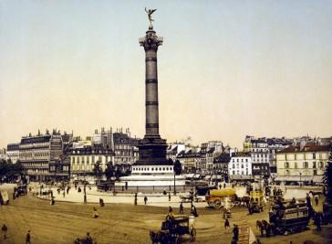 1789 – Place de la Bastille à travers les âges