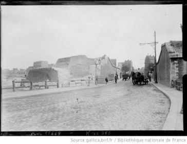 1919 – La démolition des fortifs