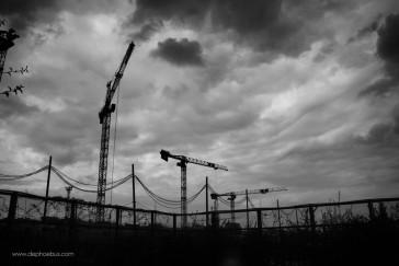 Paris 17 – Le chantier des Batignolles