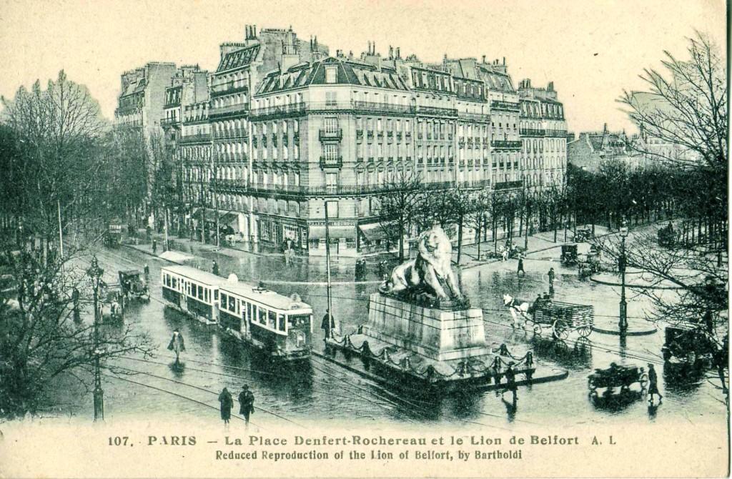 1879 Le Lion De Denfert Rochereau Paris Unplugged
