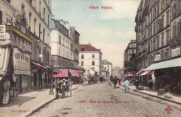 1900 – La rue de Reuilly