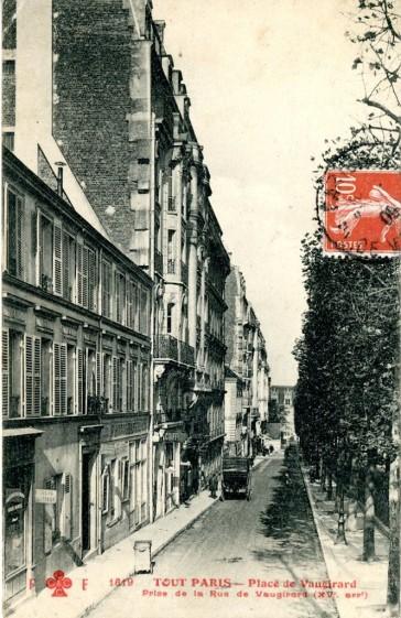 1900 – La rue de Vaugirard