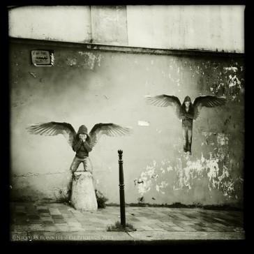 Paris 20 – Sur les murs de Ménilmontant