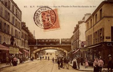 1900 – La rue de Flandre