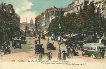 1814 – La rue Royale