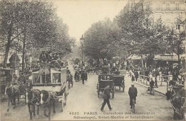 1858 – Le Boulevard de Sébastopol