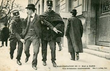 1906 – Manifestation pour la journée de 8 heures