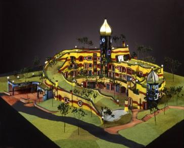 Dans la peau d'Hundertwasser – Exposition