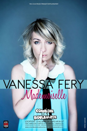 "Vanessa Fery – ""Mademoiselle"" (Spectacle)"