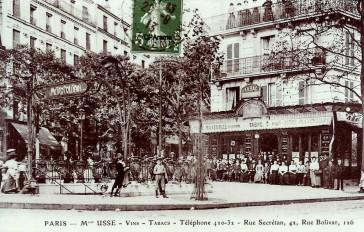 1918 – Le drame de la station Bolivar