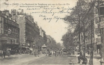 1853 – Le Boulevard de Strasbourg