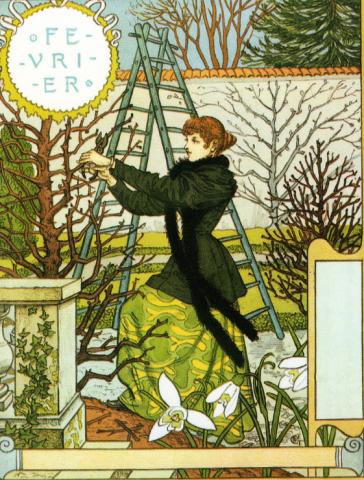 1896 – Calendrier de la Belle Jardinière