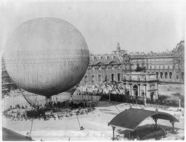 1878 – Le ballon captif d'Henri Giffard