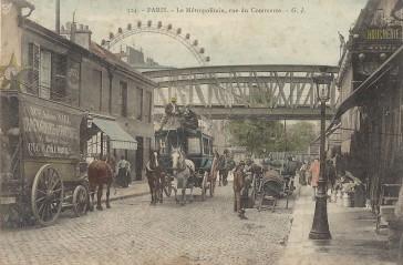 1824 – La rue du Commerce