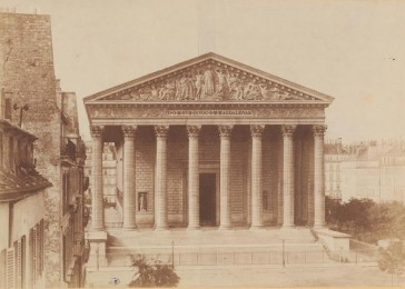 1845 – L'Église de la Madeleine