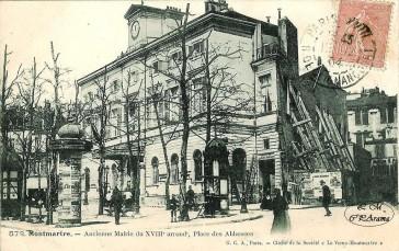Paris 18 – L'ancienne Mairie de Montmartre