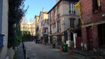 Paris 13 – La Villa Auguste Blanqui