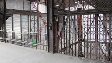 Paris 18 – La halle Pajol avant rénovation