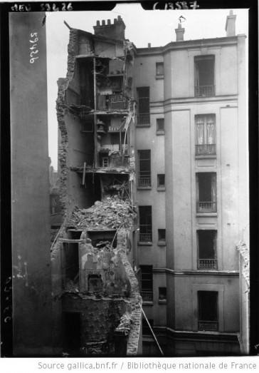 1916 – Le Bombardement de Ménilmontant