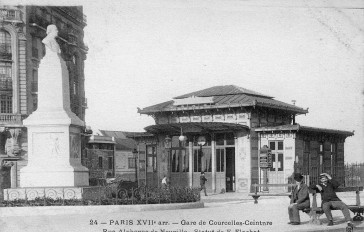 1869 – La gare disparue de Courcelles-Ceinture
