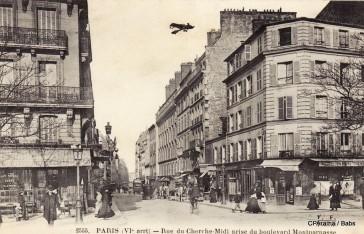 Paris 06 – La rue du Cherche-Midi