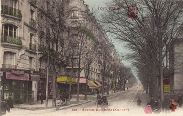 Paris 20 – Avenue Gambetta