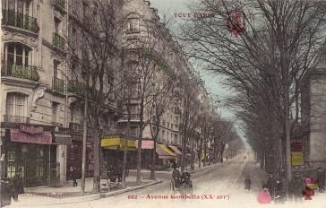 Paris 20 – Avenue Gambetta